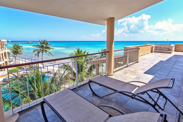 Beachfront Ocean View PH at El Faro - Reef 401