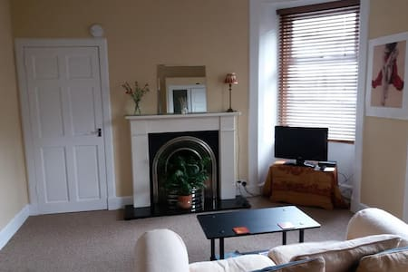 Troon central flat, handy for golf courses & beach - Apartamento