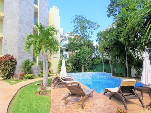 2 bedrooms luxury apartment in Playa del Carmen