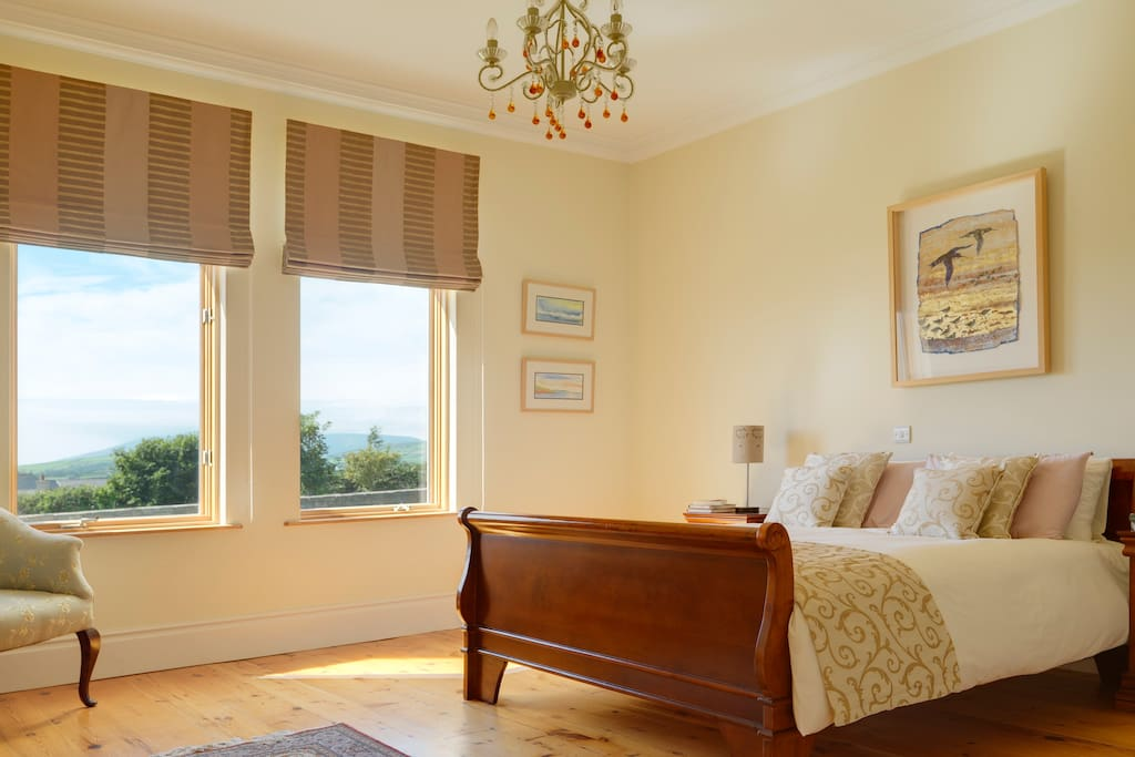 A spacious, light & airy double room awaits you overlooking Dingle