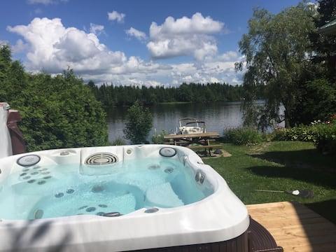 Chaleureux chalet à louer au Lac Louise