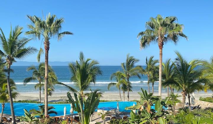 Punta Mita Beachfront Apartment with Ocean View