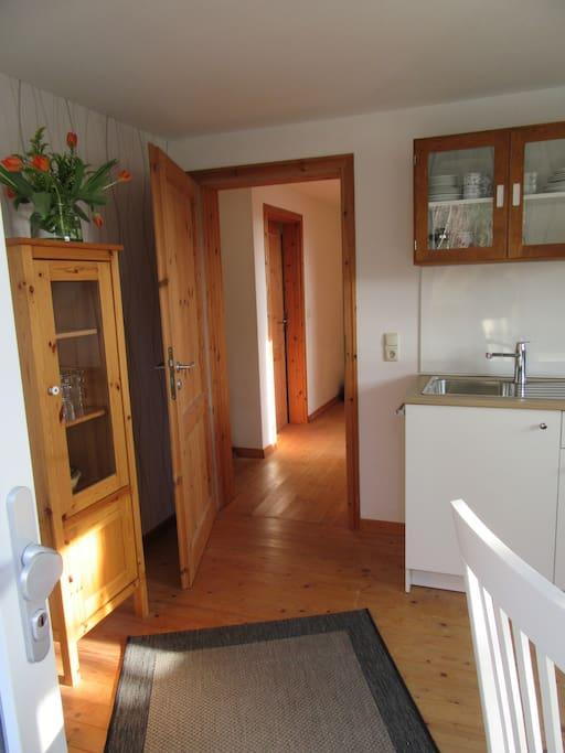 Eingang/Wohnküche