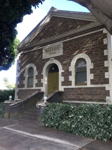 Angaston Masonic Lodge SAs Heritage