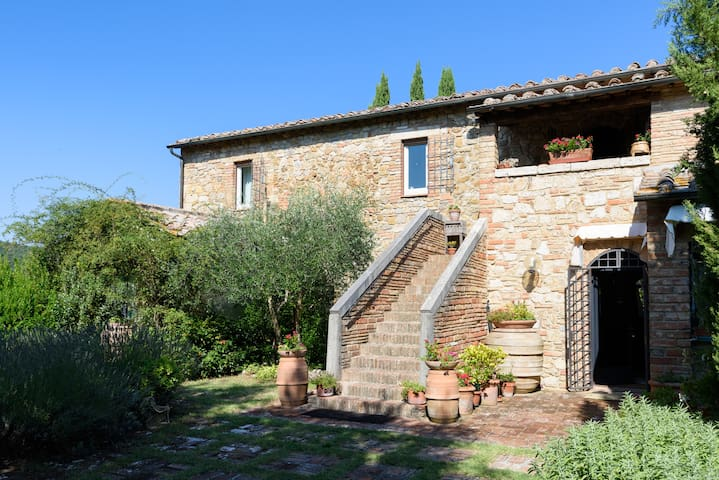 A loft with a View, in Val d'Orcia! - Chianciano Terme, Val d'Orcia - House