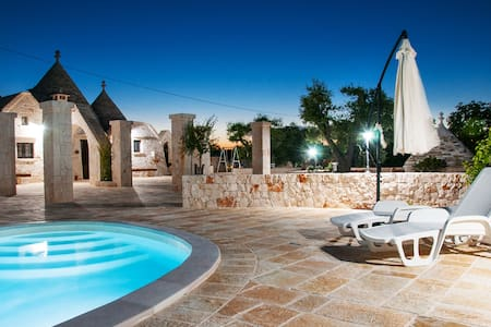 "Trullo Ulivo- ""il colle del noce"" with pool"