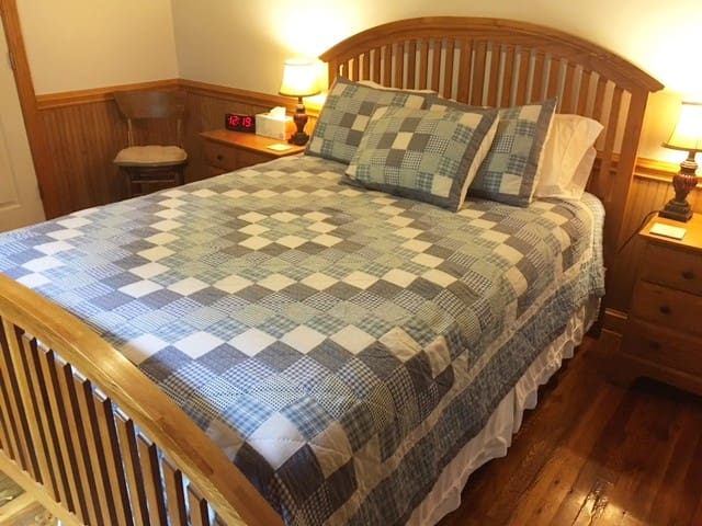 Queen Bed with Quality Mattress