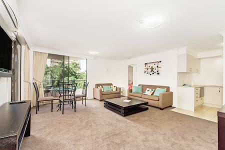 Cozy apartment in the heart of Surfers - Surfers Paradise