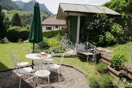 Studio avec terrasse à Charmey