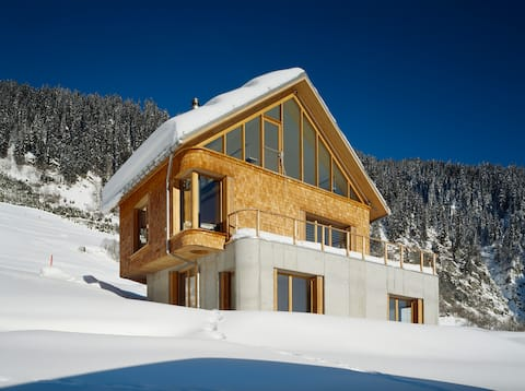 Landscape Architect's Chalet with Alpine Views