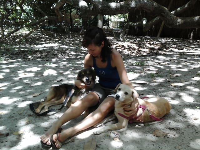 Nature & dog-lovers experience in Bahia: Suite Rió - Arembepe - Rumah
