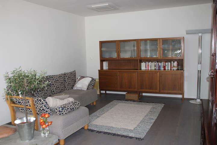 Sonnige Wohnung mit Panoramafenstern