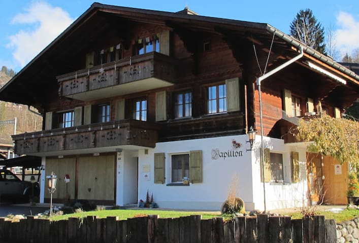 Gstaad, quiet 1.5-studio-apartment - Saanen - Departamento