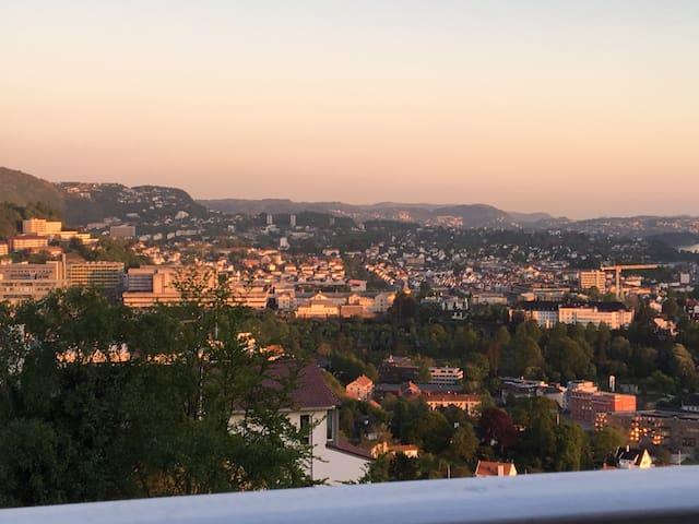 Spectacular view over Bergen