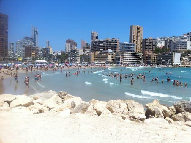 GOOD PRICE NOVEMBER ,5 min  Levante Benidorm beach