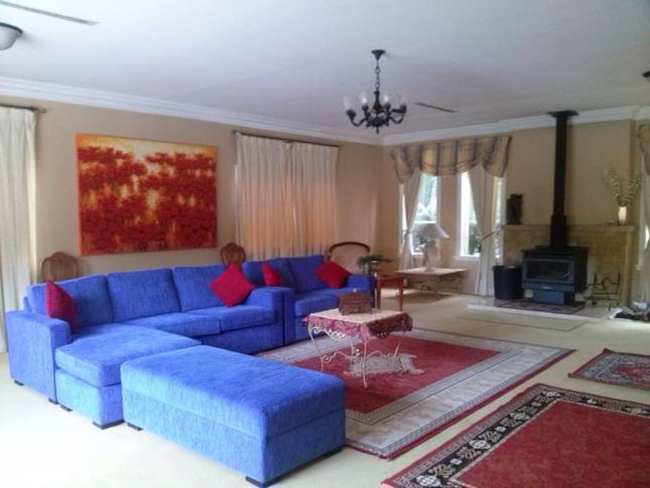 very large formal lounge room