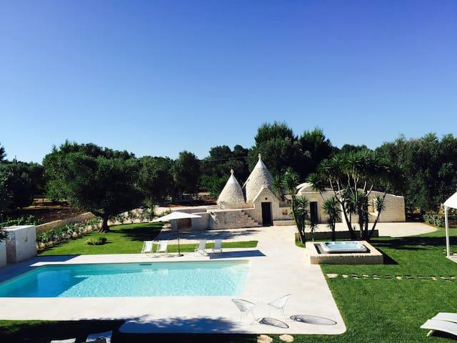 Favolosa villa con piscina e Jacuzzi tra  ulivi