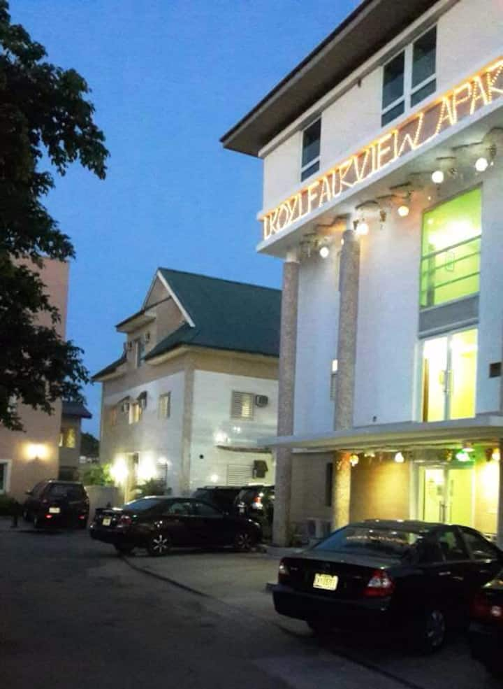 IKOYI FAIRVIEW-RM84- VERY SMALL, NICE- GRD FLR
