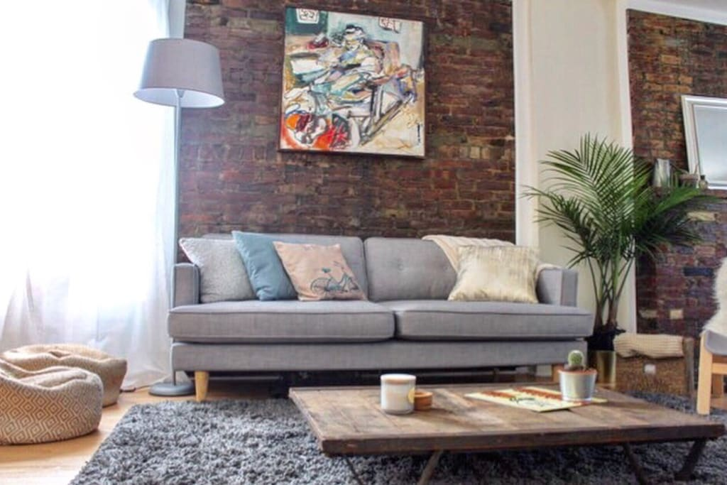 Newly renovated apartment in the heart of brooklyn - Bel appartement de ville brooklyn new york ...