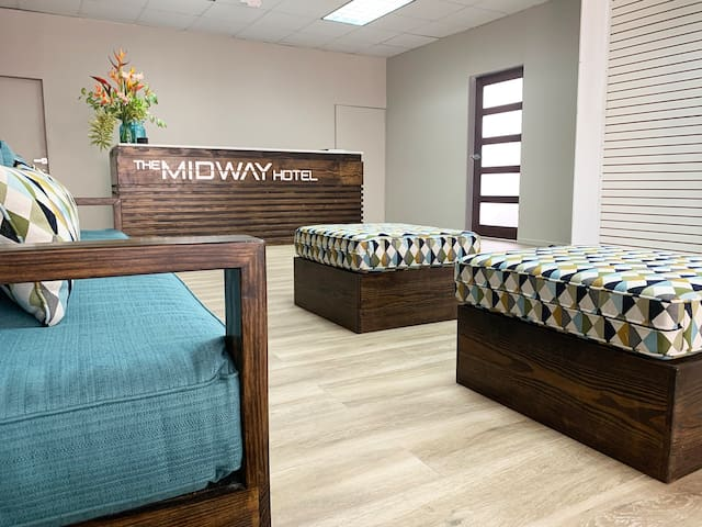 The Midway Hotel - Right at the heart of it all