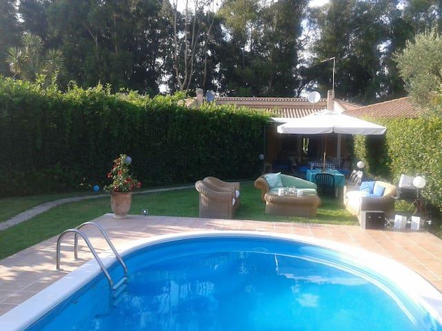 Villa a Circeo con piscina privata