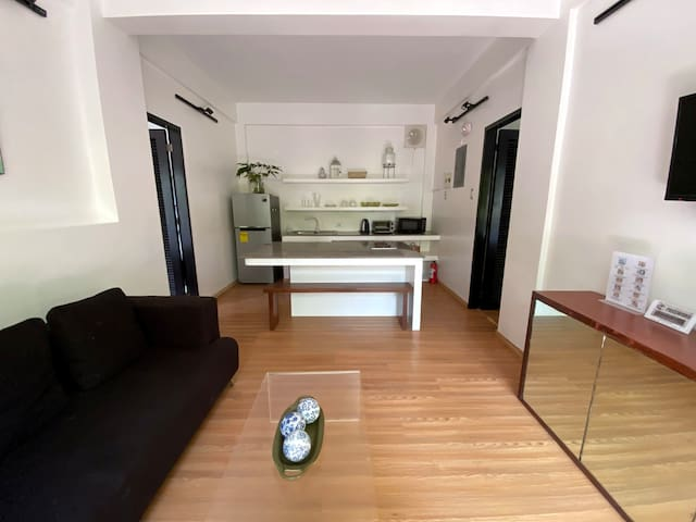 Two-Bedroom Apartment with Balcony, Bulabog Beach