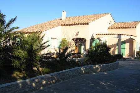 Agréable maison de 200m², Jardin, Mer, 10 pax - La Palme