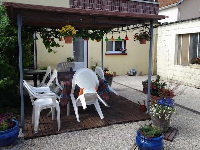 Appartement + jardin Souillac