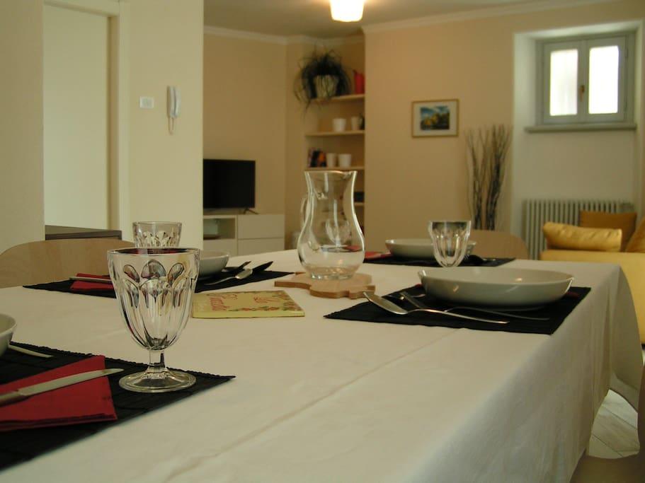 Dining Room  Sala da Pranzo