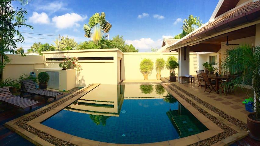 Beautiful 3 Bdrm Private Pool Villa