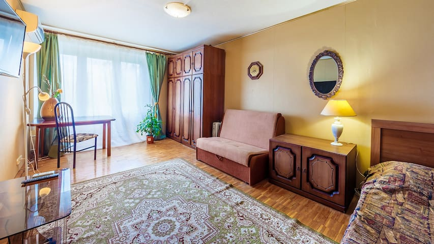 Comfortable apartments in the center of Moscow