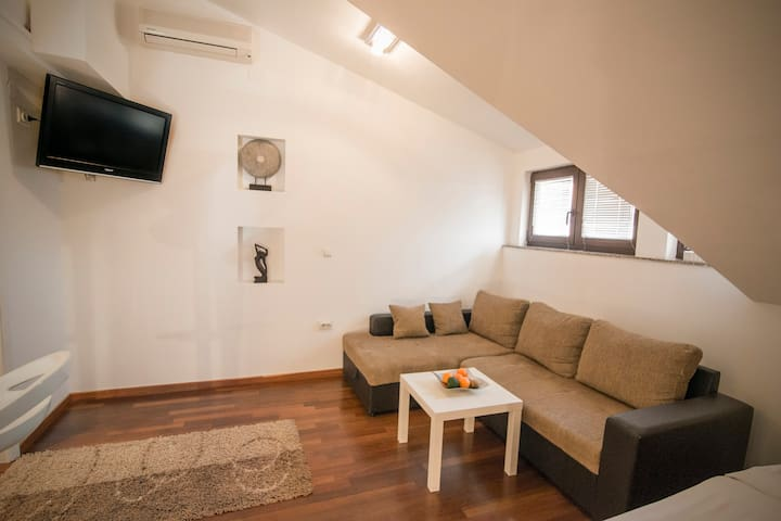 Comfortable studio, free parking! - Zagreb - Apartment