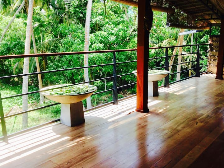 Jungle Villa 1, Magical Garden | Beach 1-Min Walk