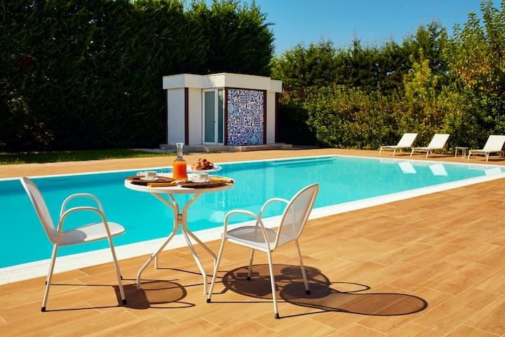 Casa vacanze con piscina Agropoli