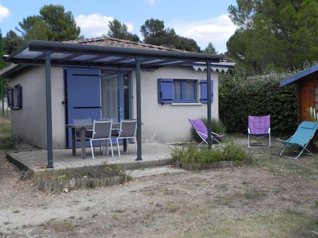 maison 30 m² proche montpellier nature piscine - Vailhauquès - Huis