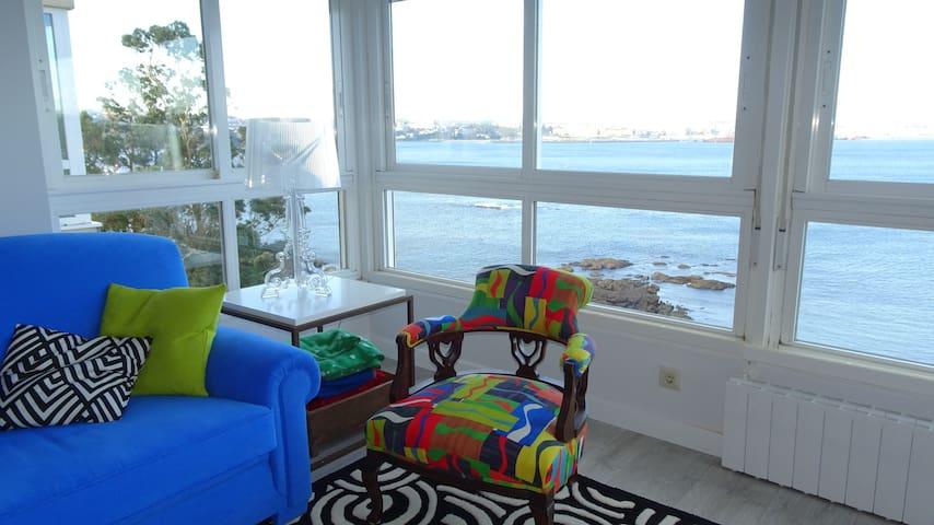 Apartamento con maravillosas vistas de La Coruña