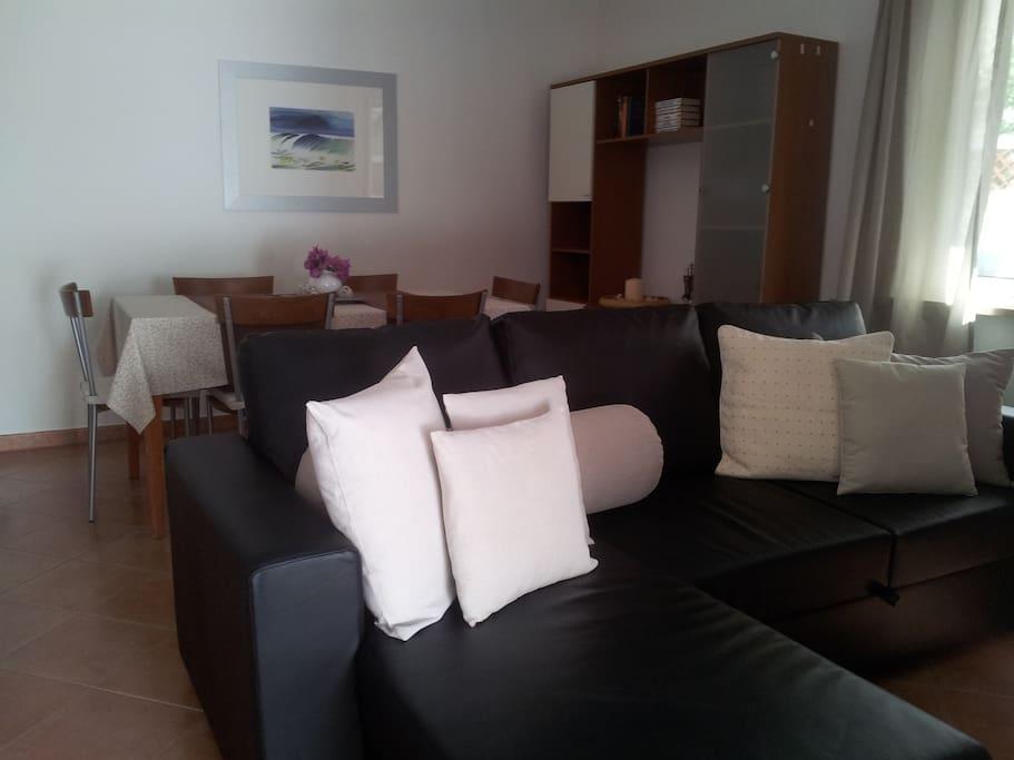 SALONE | zona relax e con aria condizionata
