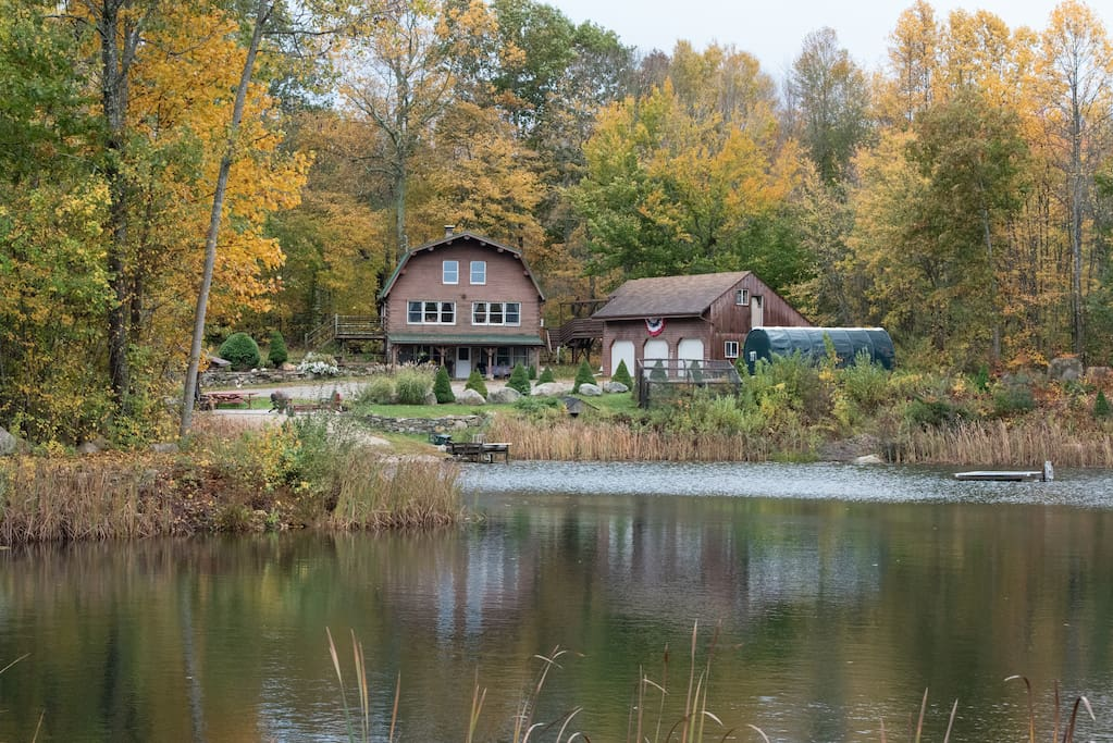 come join us for autumn colors on the pond