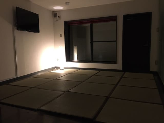 サウナ、会員制BAR付。恵比寿駅徒歩5分、Japanese Classical Room。 - Shibuya-ku