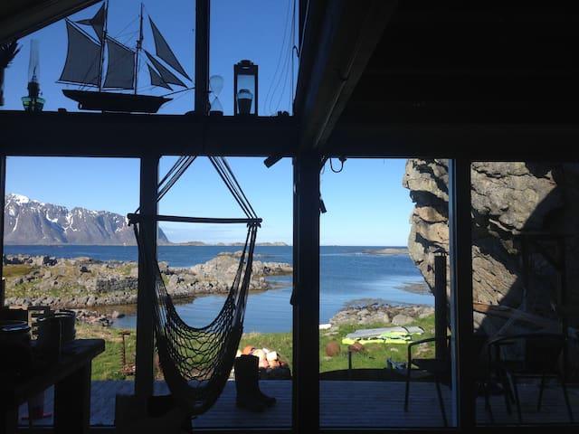 Lofoten, Sandøya EinHagen - Vestvågøy - Hytte