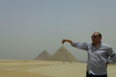 PYRAMIDS VIEW&TOUR GUIDE,  CAR (10) - egypt pyramids high way fayuom rode  - 公寓