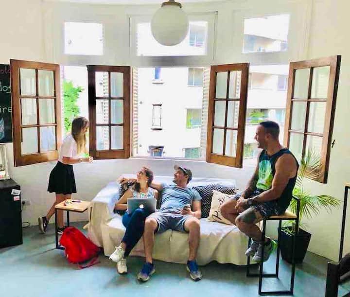 ilVero Hostel Recoleta - Habitación 6 pasajeros