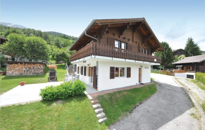 Holiday apartment with 2 bedrooms on 60m² in Unterbäch