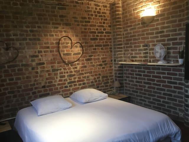 chambre  indépendante  aux portes de Lille