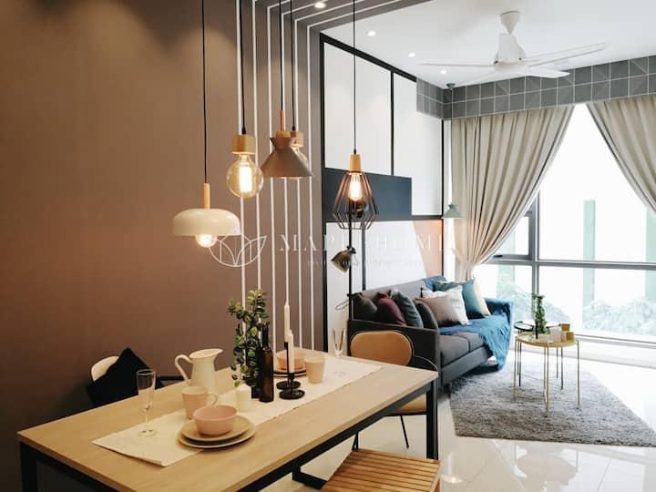 Designer Decorated  1 Bedroom Suite KL City Center