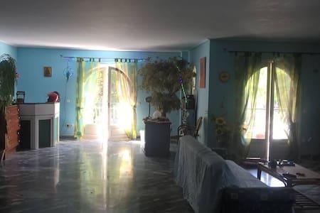 Γαλαζιος Μυστικος Κηπος - Ekali - House