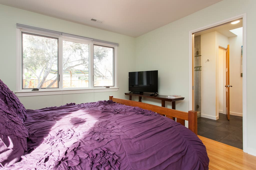 Room includes television with premium cable, Netflix and Amazon Prime