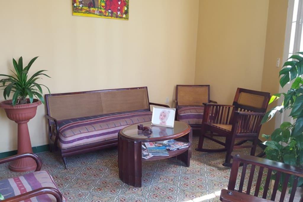 Living-room area