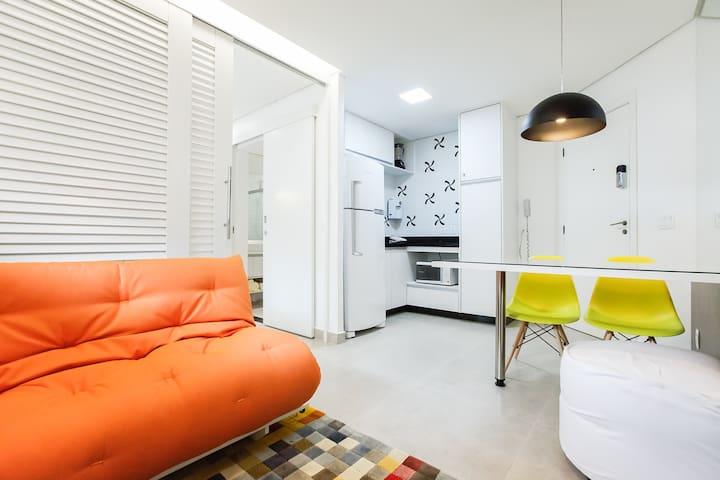 Cozy studio. Great location. - Brasília - Apartment