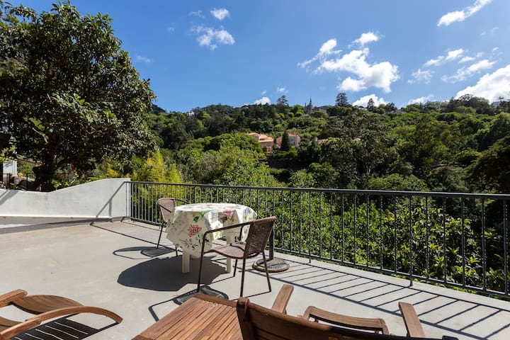 Private Studio with Terrace in OId Town Sintra